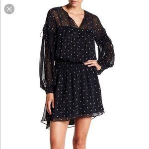 Joie Academia Silk Blouson Dress